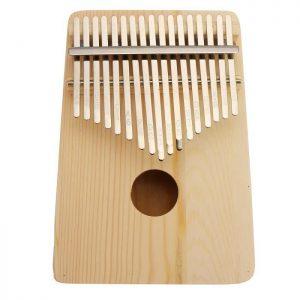 kalimba 17 clés bois pin