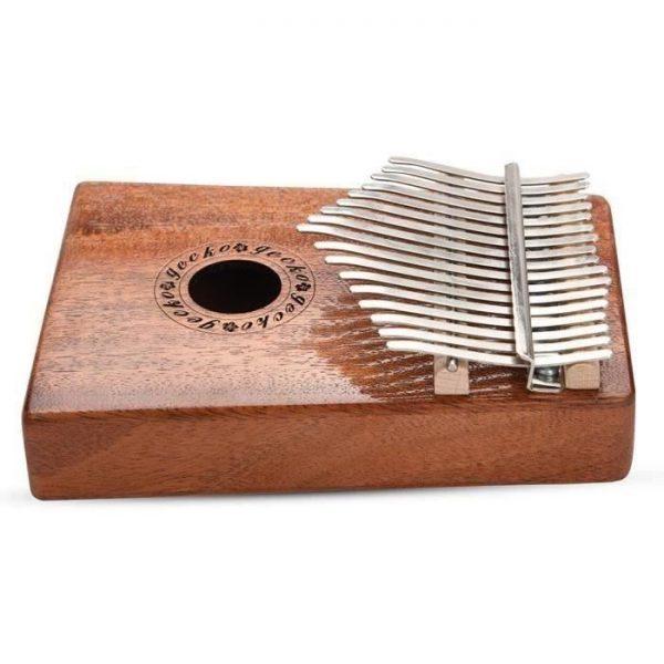 gecko-portable-17-key-wood-kalimba-thumb-piano-instrument en bois