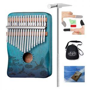 kalimba-instrument-bois-acajou-bleu (2)