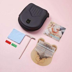 kalimba-instrument-ourson-marron-kit
